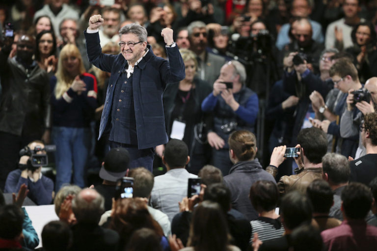 As French Election Nears, a Bernie Sanders-Style Candidate Rises in the Polls