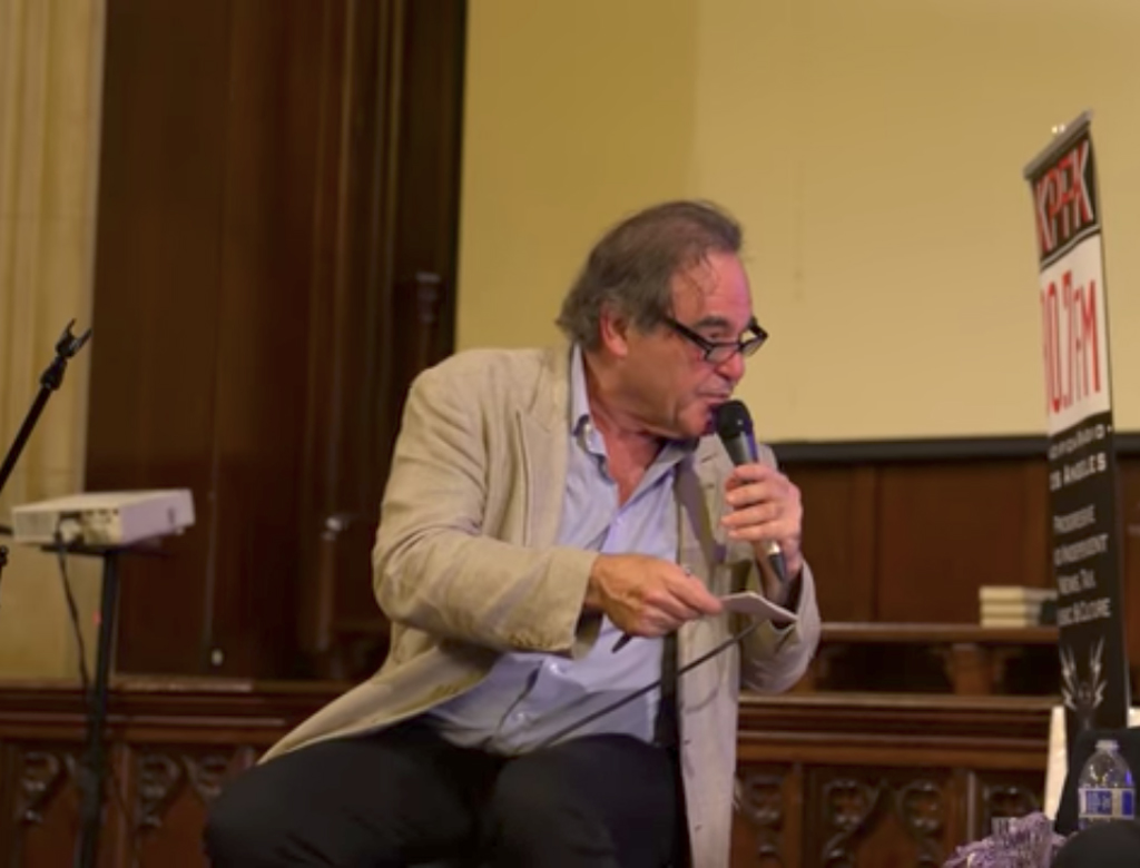 Oliver Stone on Julian Assange and Edward Snowden (Video)
