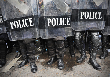 The Republican Convention, Donald Trump and the Police State