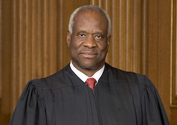 Clarence Thomas Argues Strenuously to Keep Guns in the Hands of Domestic Abusers