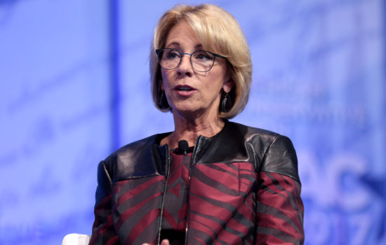 DeVos Vows to Replace Obama's Campus Sexual Assault Policies