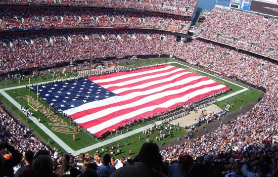 How the Pentagon Paid for NFL Displays of Patriotism