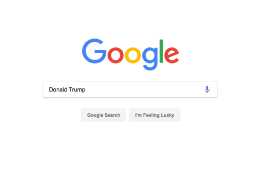 Google and Trump: Wildly Different, but Playing the Same Game
