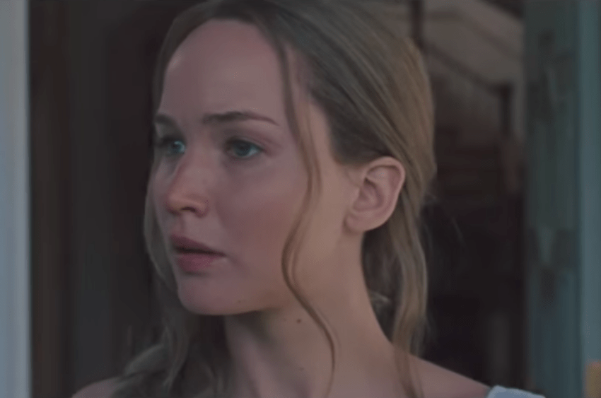 Jennifer Lawrence as the title character in