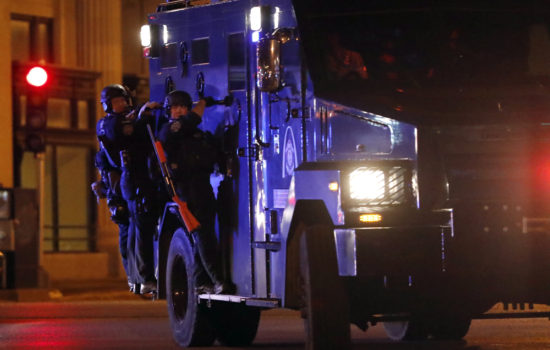 St. Louis Police Criticized for Reaction to Protesters
