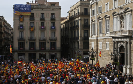 EU Commission Calls for Dialogue After Spanish Vote Violence