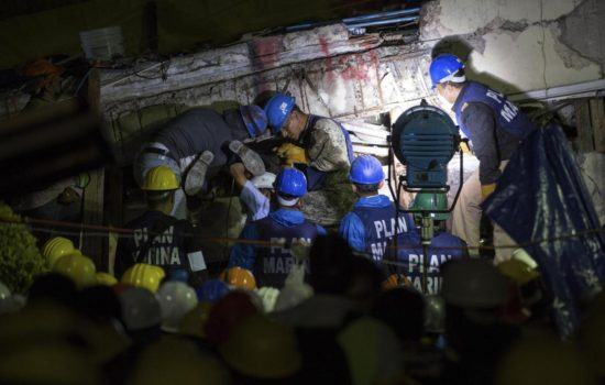 Report of Girl Trapped Under Rubble Is False; Mexican Official Apologizes