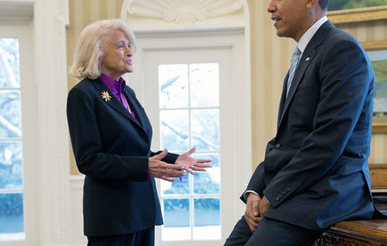 Edith Windsor, Who Helped End the Ban on Gay Marriage, Dies at 88