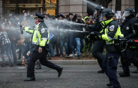 Body Cam Footage of Inauguration Protests No Longer Protected