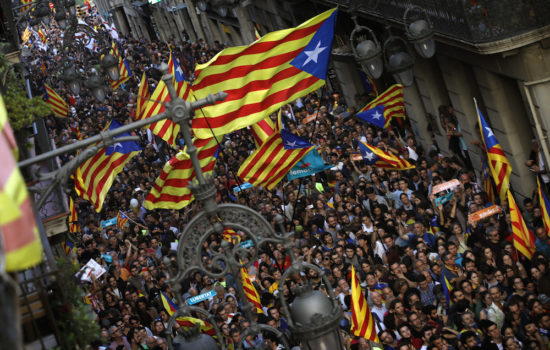 Spain Fires Catalan Government to Halt Secession