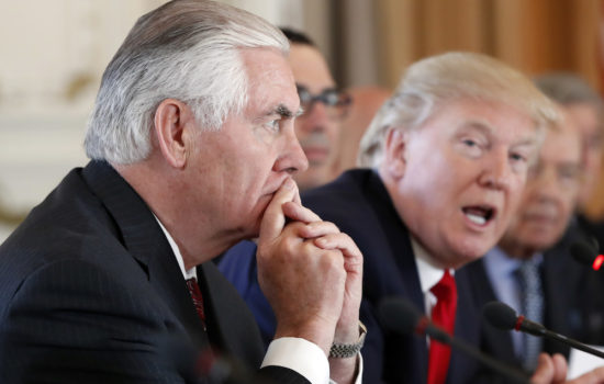 Are Tillerson and Trump Really 'All Good'?