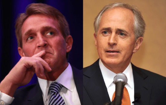 Corker and Flake's Pro-Trump Voting Records Tell It All