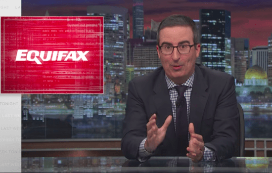 John Oliver on What to Do About the Equifax Breach (Video)