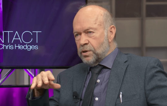 Chris Hedges and James Hansen on Solving the Climate Crisis