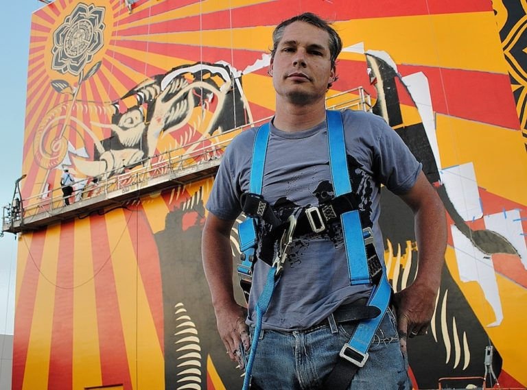 Shepard Fairey Opens His Largest Solo Show, in L.A.