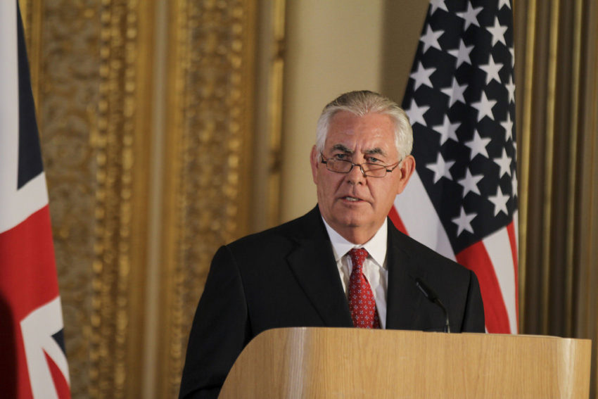 Tillerson urges African nations to isolate North Korea