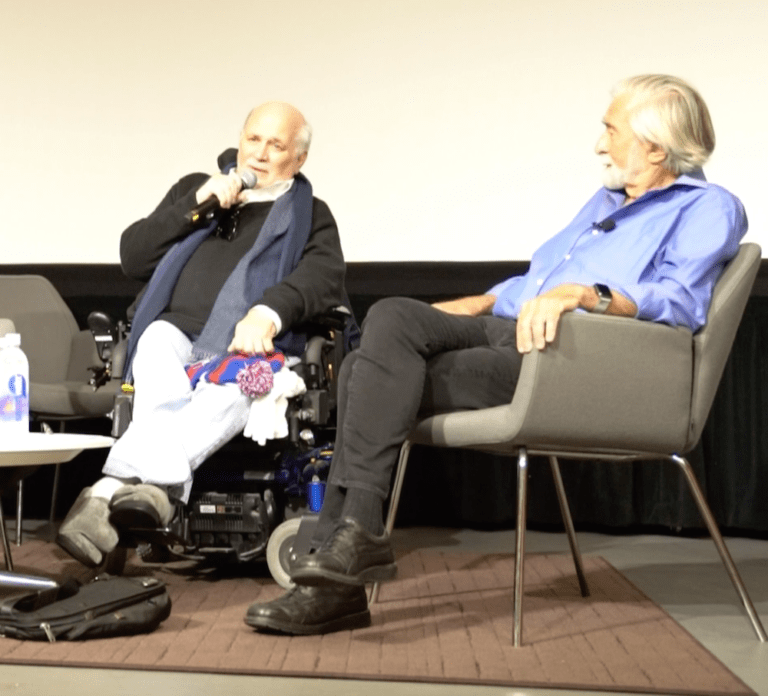 Ron Kovic Explains His Opposition to Trump's Transgender Military Ban (Video)
