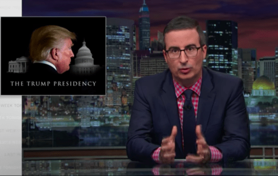 John Oliver on the Most Damaging Effects of Trump's Presidency (Video)