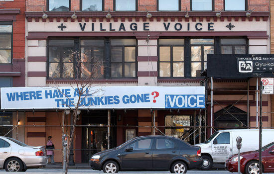 RIP, Printed Village Voice