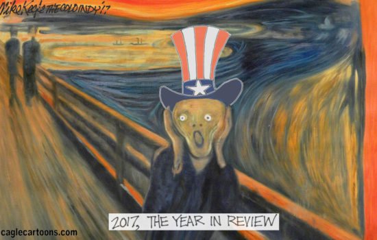 Truthdig's Top 10 Cartoons of 2017