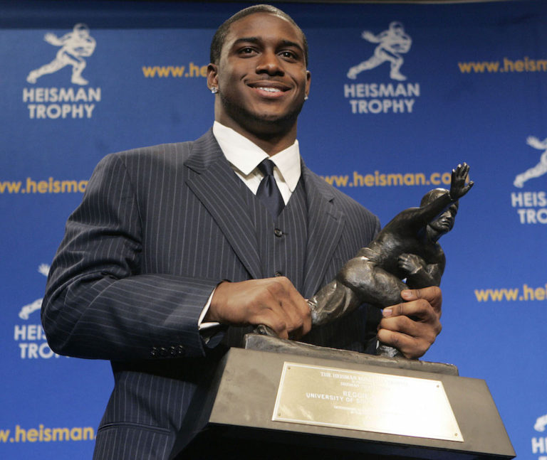 Where Is Reggie Bush's Heisman Trophy?