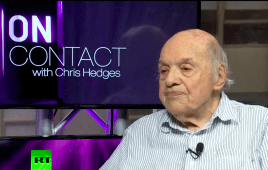 Chris Hedges, Gerald Stern: The Poet in Technocratic Society (Video)