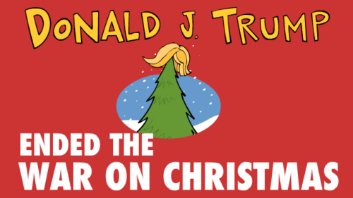 Trump Ends the War on Christmas! (Video)