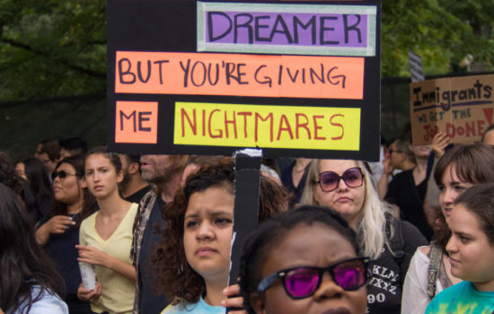 We Cannot Expect a Racist President to Save DACA