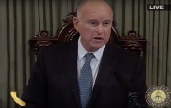 California Gov. Jerry Brown Delivers 2018 State of the State (Video)