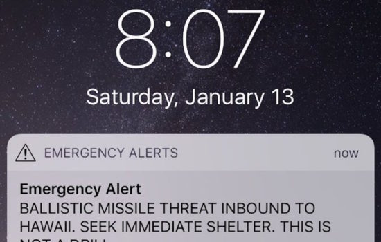What If the Text Alert in Hawaii Had Been Real?