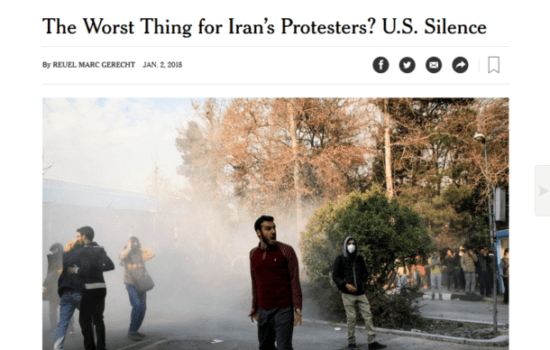 Think Tank-Addicted Media Turn to Regime Change Enthusiasts for Iran Protest Commentary