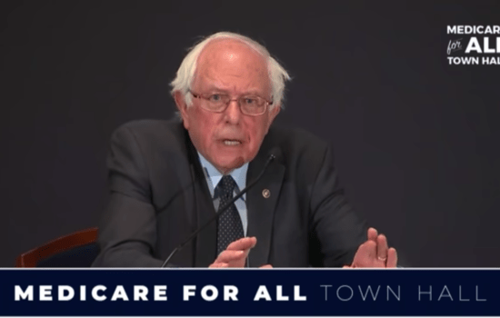 1.1 Million Watch Sanders' 'Medicare for All' Town Hall (Video)