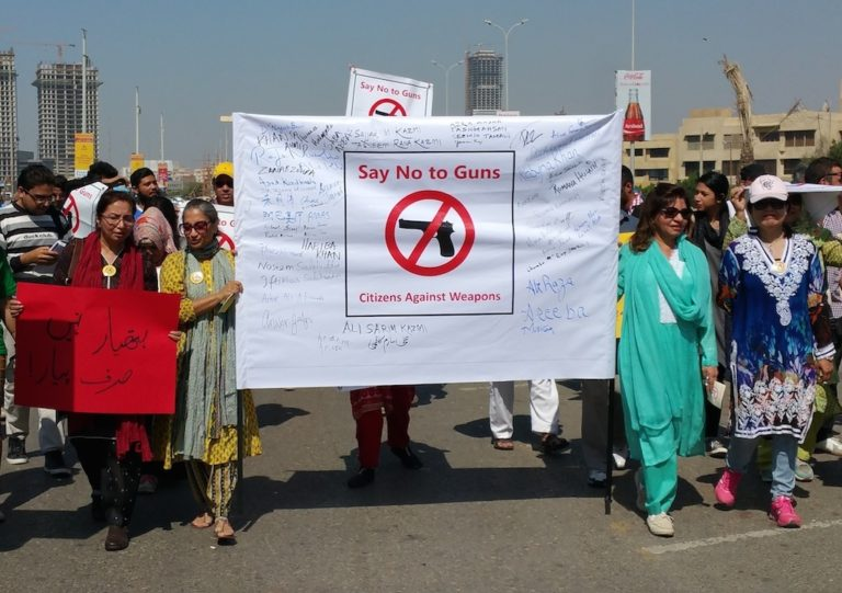 Pakistanis Draw a Line Against Guns: We Will Not Dance to War Drums