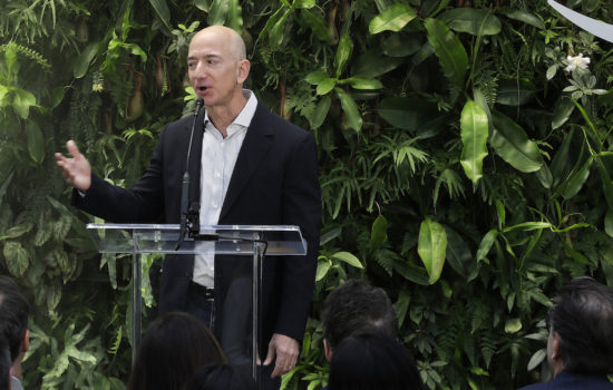 Jeff Bezos' Fortune Grows by $2.8 Billion in One Day