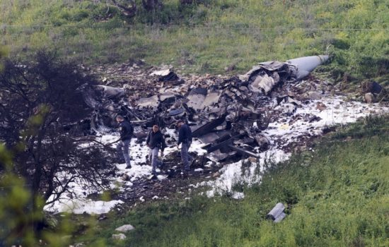Israel Downs Iranian Drone, Strikes Syria; F-16 Crashes