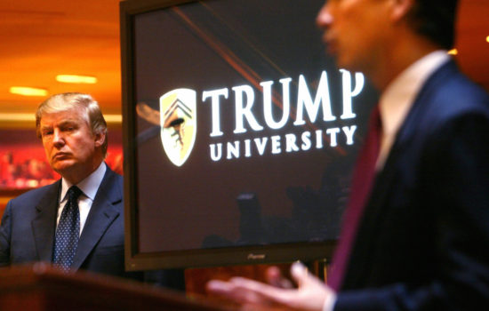 Screw U: The Illegal Business Practices of Trump University