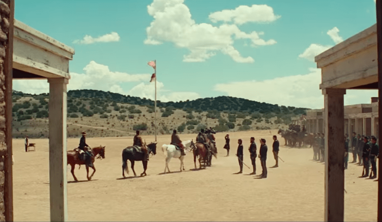 'Hostiles' and the Politics of Modern Westerns