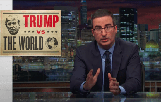 John Oliver Tries to Figure Out Donald Trump's Foreign Policy (Video)