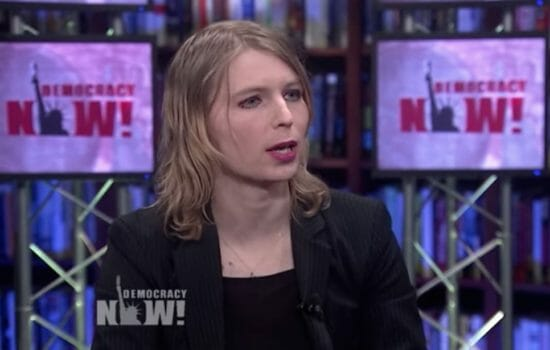 Chelsea Manning: We Need to Stop This 'Death Machine of Power'