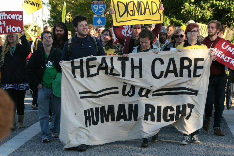 Getting From Profits for a Few to Health Care for All
