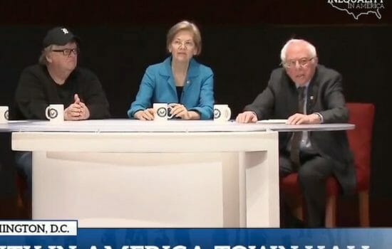 Watch the Bernie Sanders Town Hall on Inequality in America (Video)