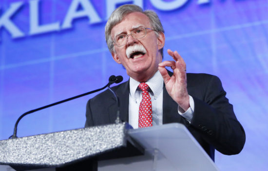 Here Comes Bolton, There Goes Arms Control