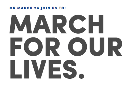 March for Our Lives Kicks Off Saturday