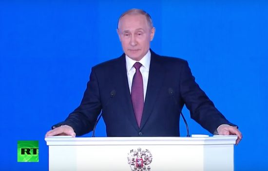 Read and Watch Vladimir Putin's Russia State of the Nation Address