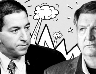 Journalists Glenn Greenwald, James Risen Debate on Russia