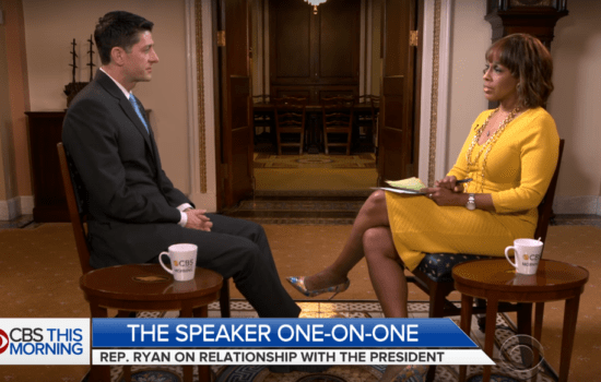 Gayle King Grills Paul Ryan on Lack of Diversity in GOP