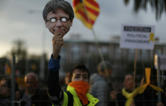 Catalonia's Ex-Leader Freed on Bail