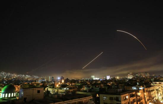 U.S. and Two Allies Launch Missile Attack on Syria