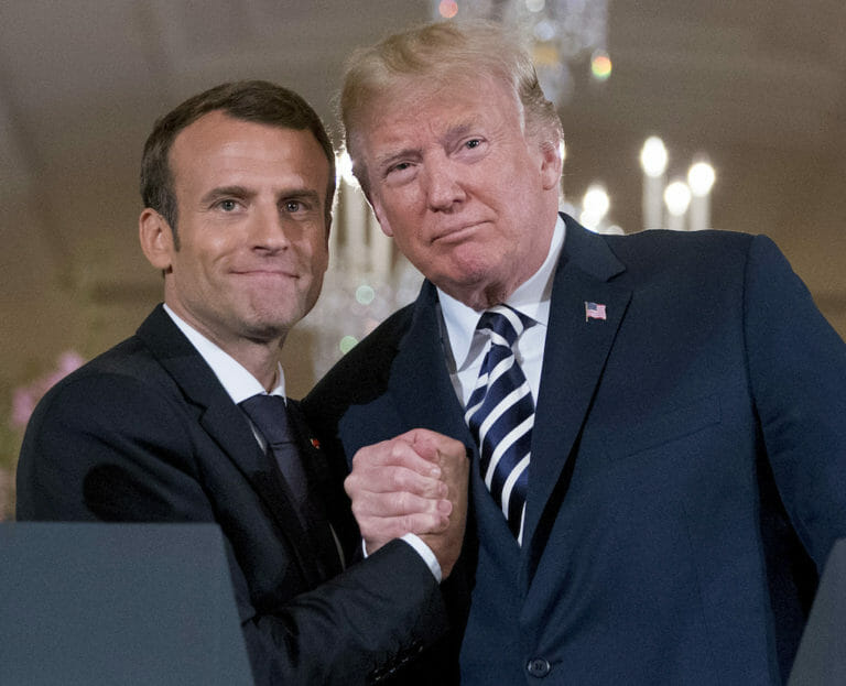 Macron Shows Sense of Urgency Against Trumpism