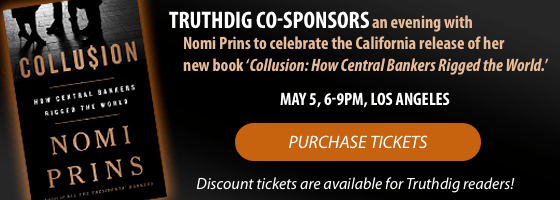 Purchase tickets for Nomi Prins' Book Launch